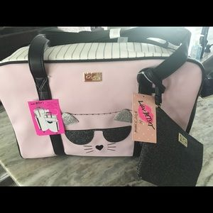 Betsey Johnson Luv Betsey Weekender Bag